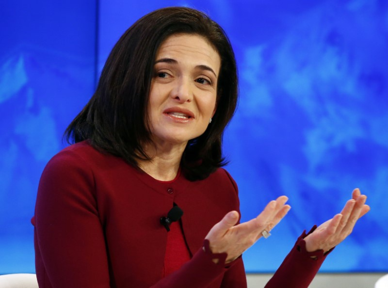 Facebook COO Sheryl Sandberg donating over $100m in stock to charity