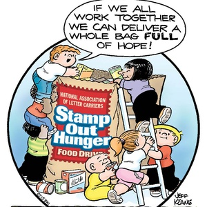 letter carrier food drive 2015