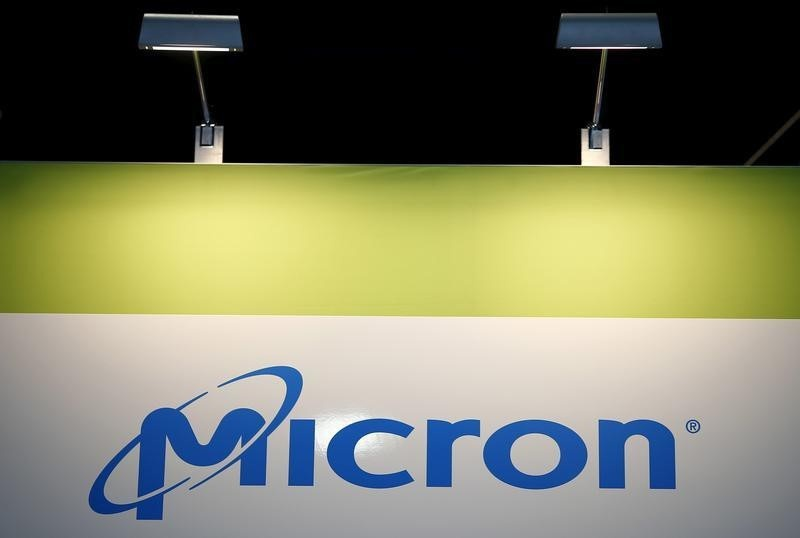 Micron posts smallest revenue decline in a year