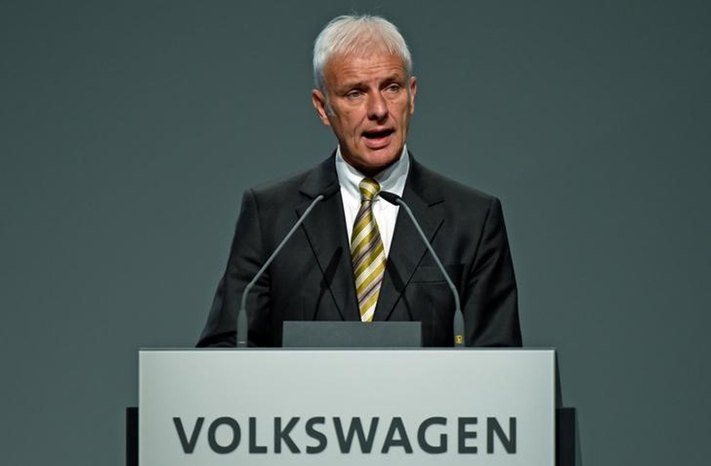 VW chief: Working on settlement with US for emissions fraud