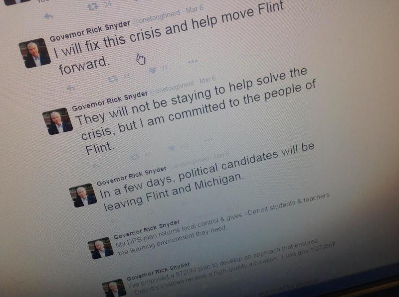 Gov. Snyder calls for investigation of health department