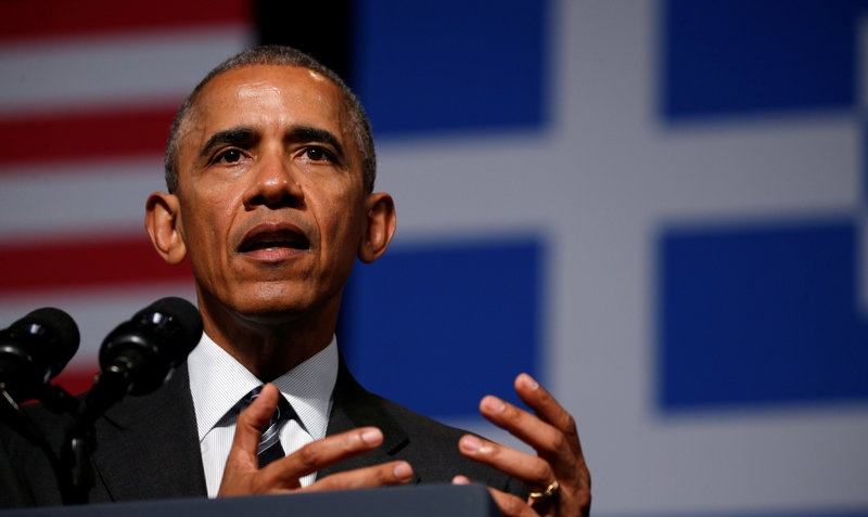 Obama promises North Atlantic Treaty Organisation support will continue on final trip to Greece