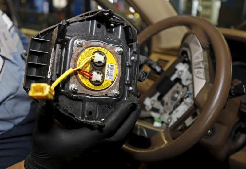 Takata, 3 ex-workers charged with concealing faulty air bags