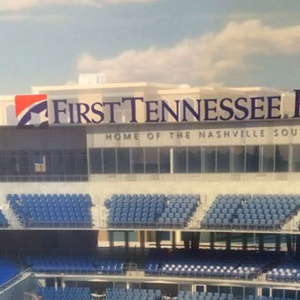 New Nashville Sounds Stadium. Courtesy of WKRN.