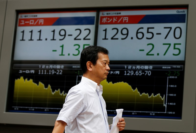 Global stocks fall over chances of Trump's victory in US elections