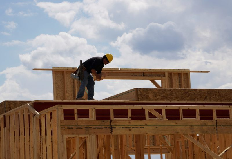 Housing starts in U.S. surge to a nine-year peak in October