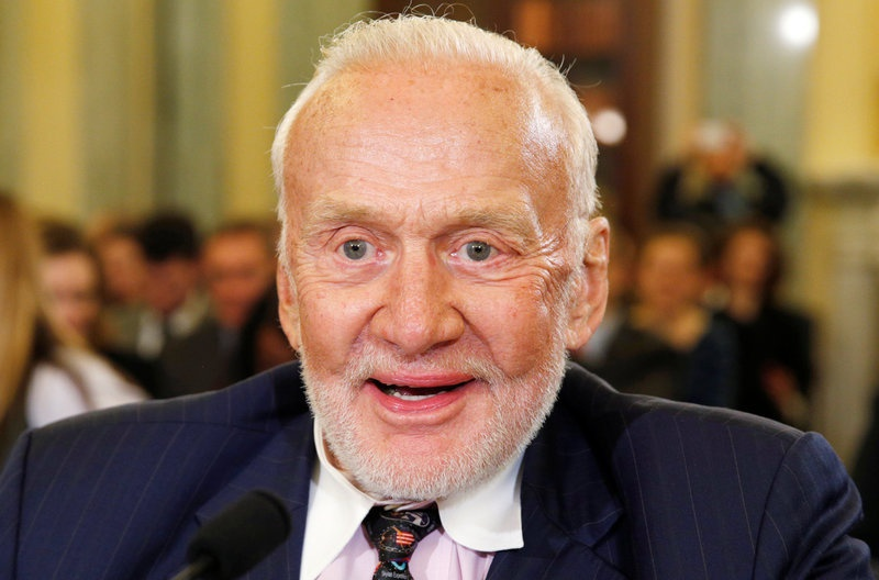 Buzz Aldrin is 'Keeping Up with the Kardashians' while recouperating