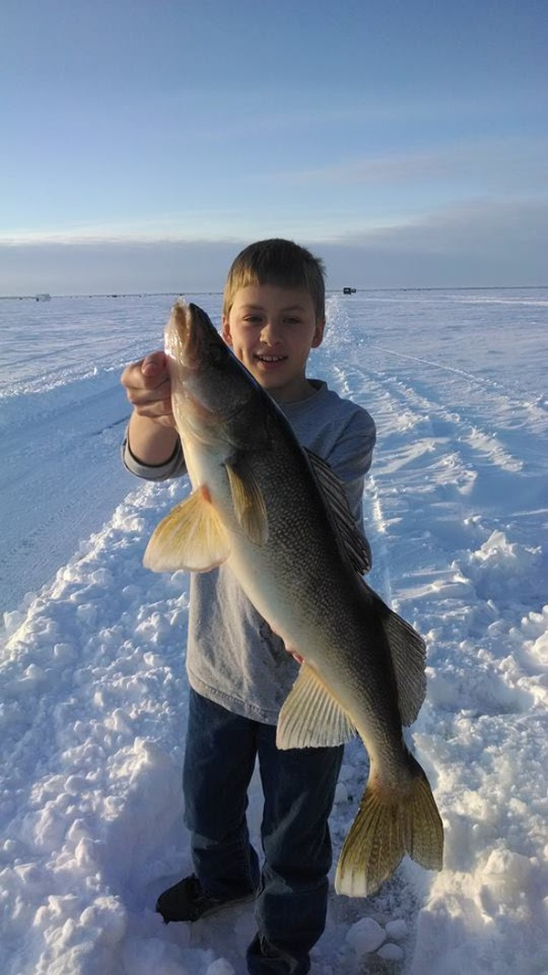 Lake of the woods fishing report news today 39 s froggy 99 9 for Lotw fishing report