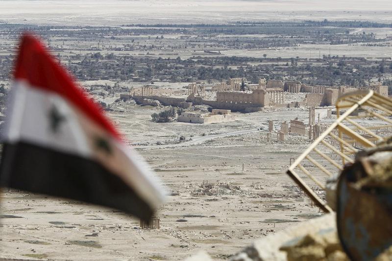 IS says it shot down Syrian jet near Palmyra