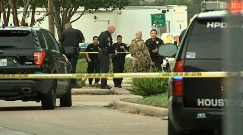 Houston officials to examine shooter's residence
