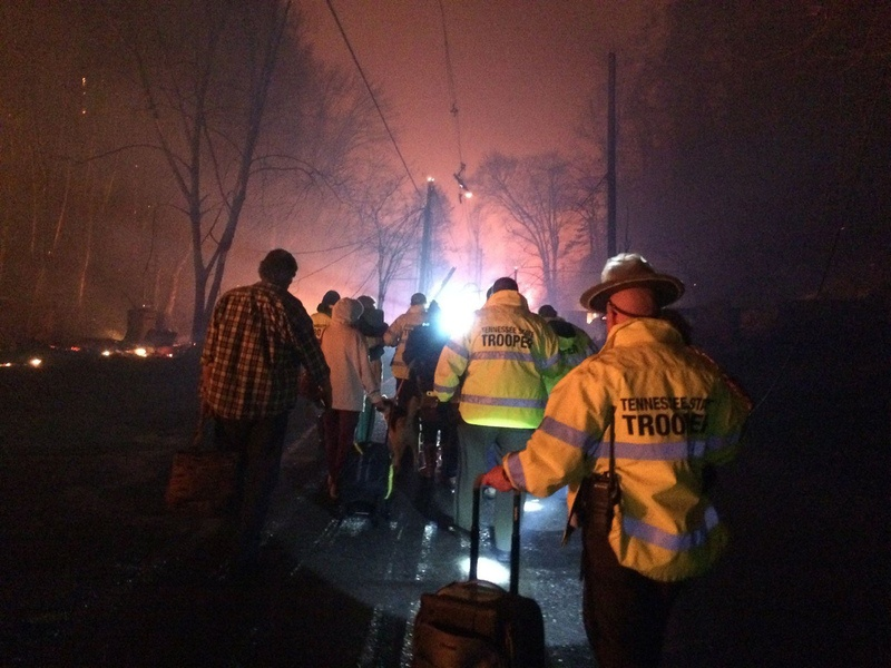 Tennessee mayor says death toll from wildfires has increased to 10