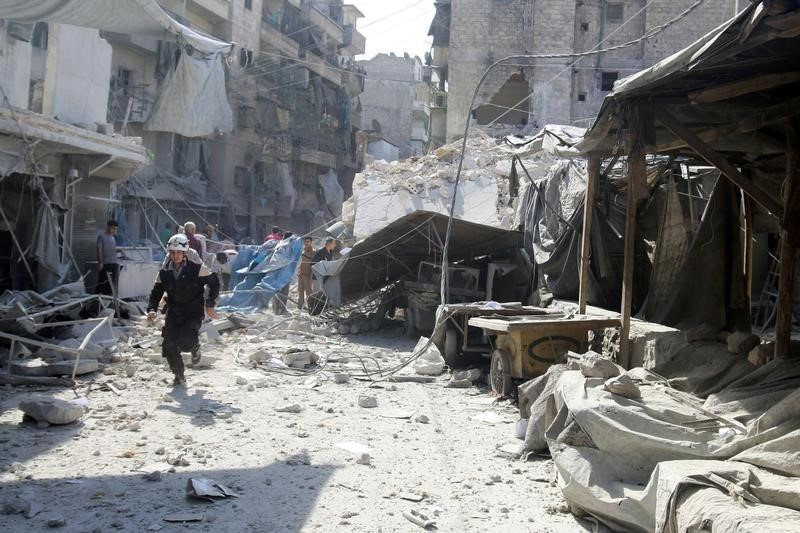 Assad says Aleppo to serve as springboard for liberation