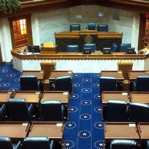 Indiana Senate Chambers
