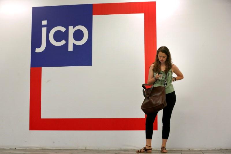 J.C. Penney posts surprise drop in same-store sales, shares slide