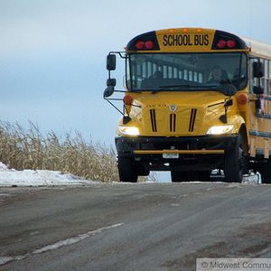 School bus. Image © Midwest Communications, Inc. 2014.