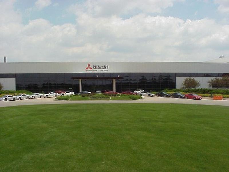 Mitsubishi plant courtesy mitsubishi north america for Mitsubishi motors normal il