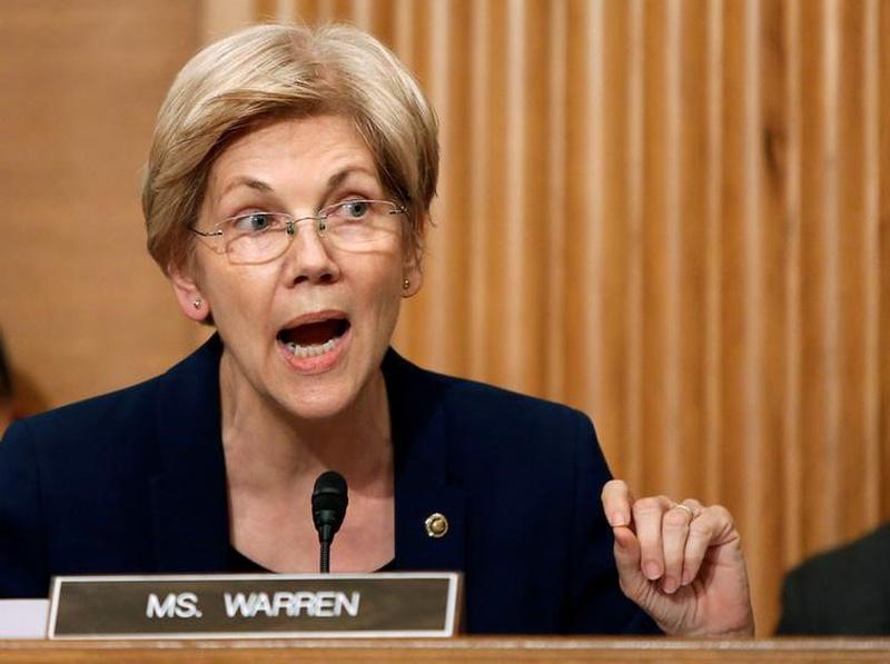 Elizabeth Warren tells Obama to sack SEC chief White