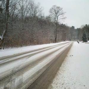 Snowy roads (image © Midwest Communications)