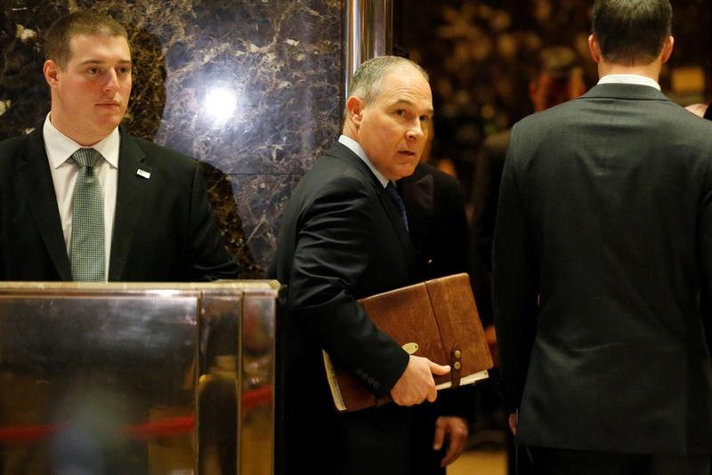 Trump to tap Oklahoma AG Pruitt to head EPA