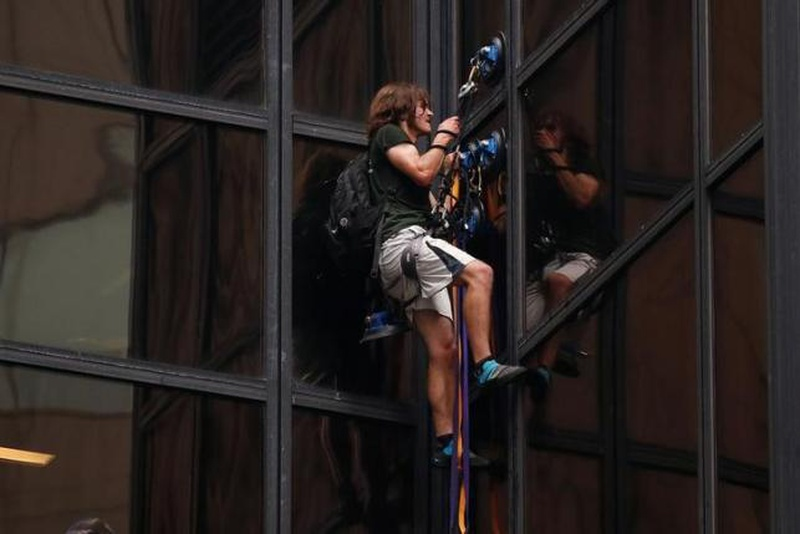 Trump Tower climber charged with reckless endangerment