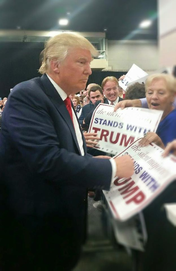 ... Attend Rally for Donald Trump | News | Classic Rock 103.5 WIMZ