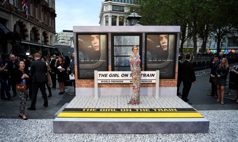 The Girl on the Train steams to top of USA box office
