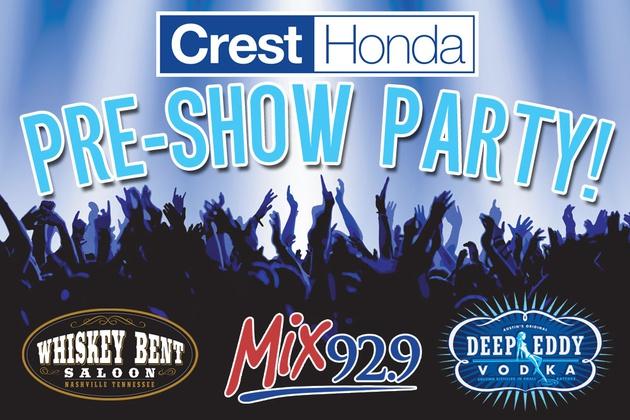 Crest Honda Pre-Show Party