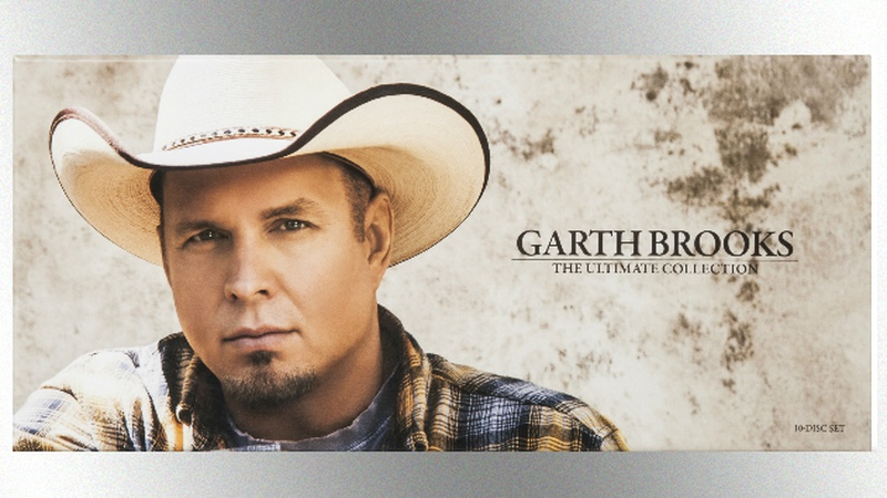 Garth Brooks Teams With Target for 'The Ultimate Collection'