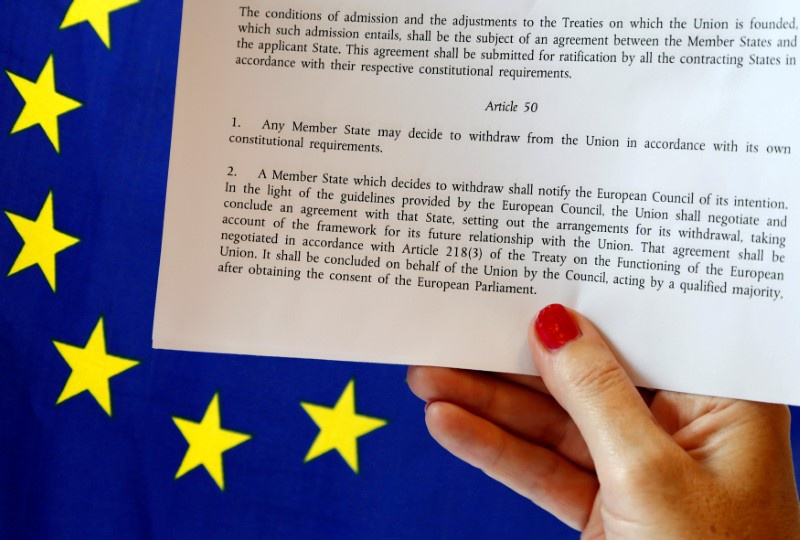 British govt requires parliament approval to trigger Article 50 for Brexit