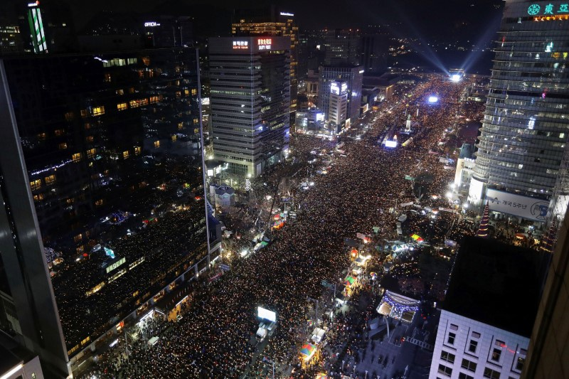 S. Korean president faces possible last day in power