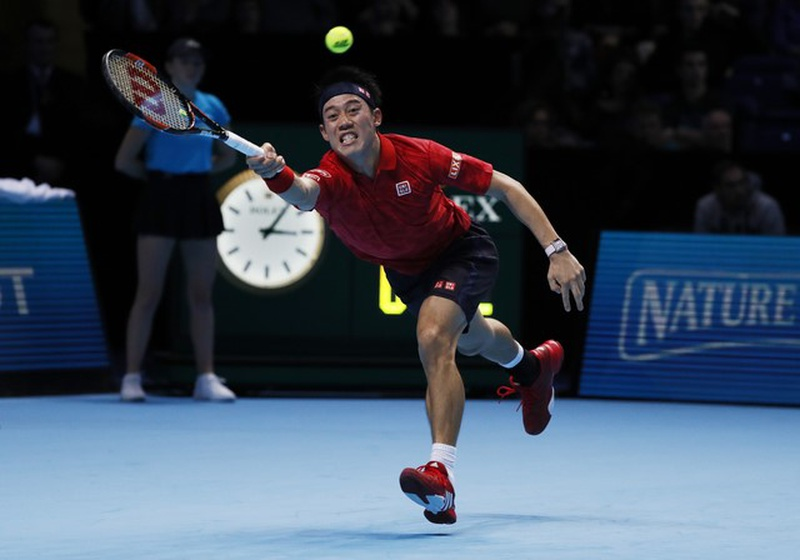 Murray overcomes Nishikori to improve to 2-0 in ATP Finals