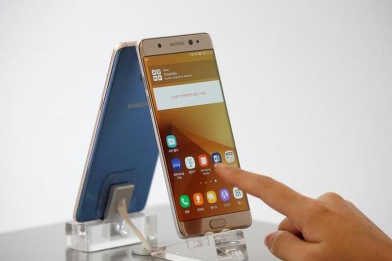 Samsung starts U.S. recall program for Galaxy Note 7