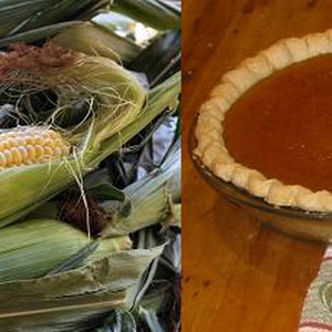 sweet corn and pumpkin pie photo morguefile.com