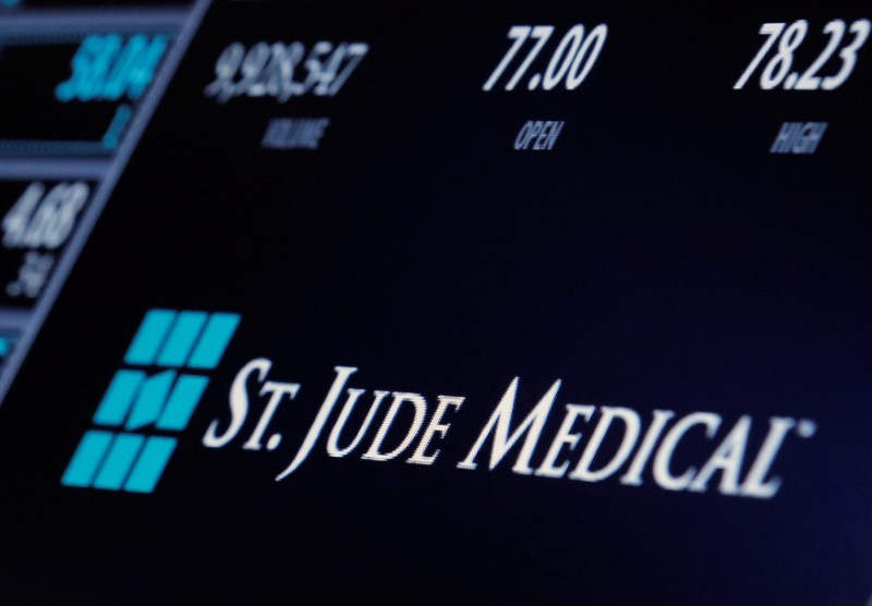 Jude and Abbott to sell some medical devices for $1.12 bln