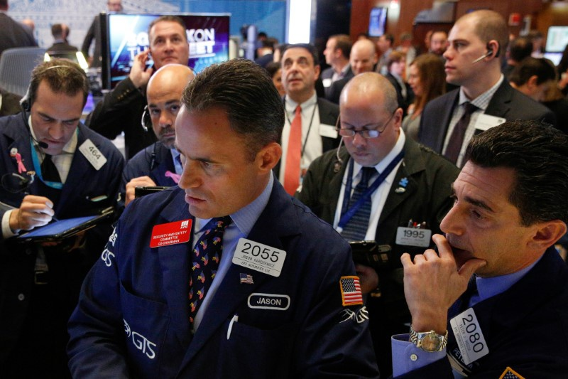With Trump in lead, stock market takes a dive