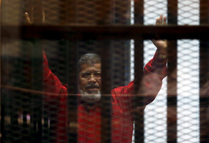Egypt court strikes down ousted president's death sentence