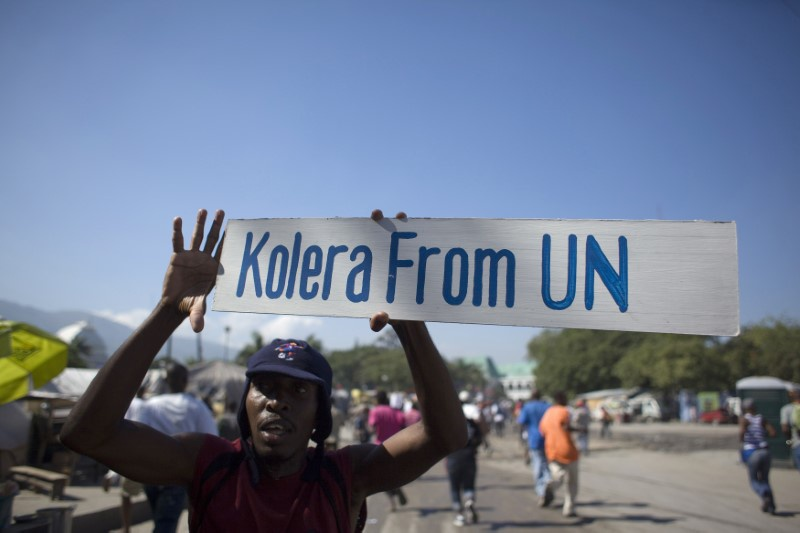 United Nations apologizes for Haiti cholera spread, not for causing it