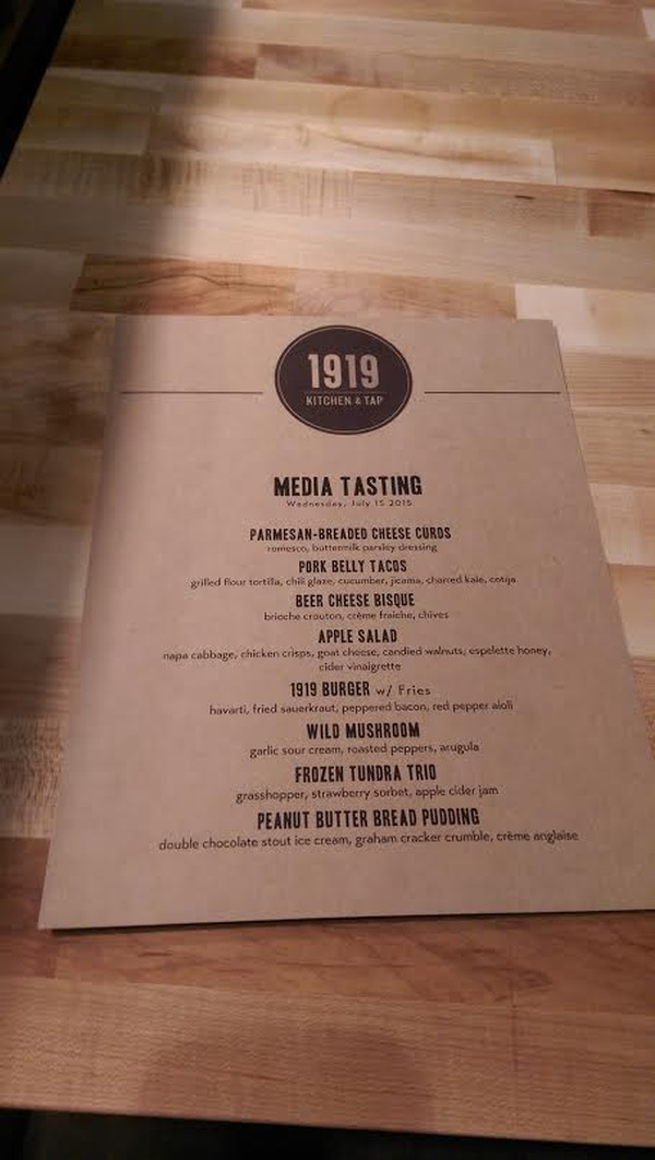 Look Inside 1919 Kitchen Tap Tasting Sneak Preview News 101 Wixx