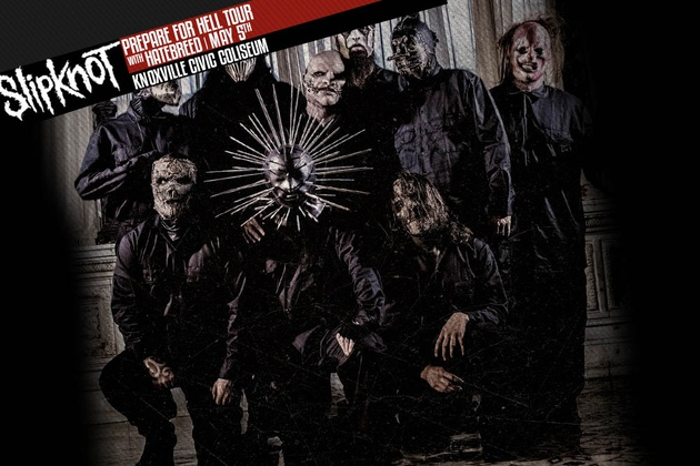 Slipknot at the Knoxville Civic Coliseum