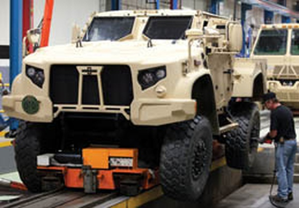 Tower oshkosh receive military contracts news wsau for Department of motor vehicles stevens point wisconsin