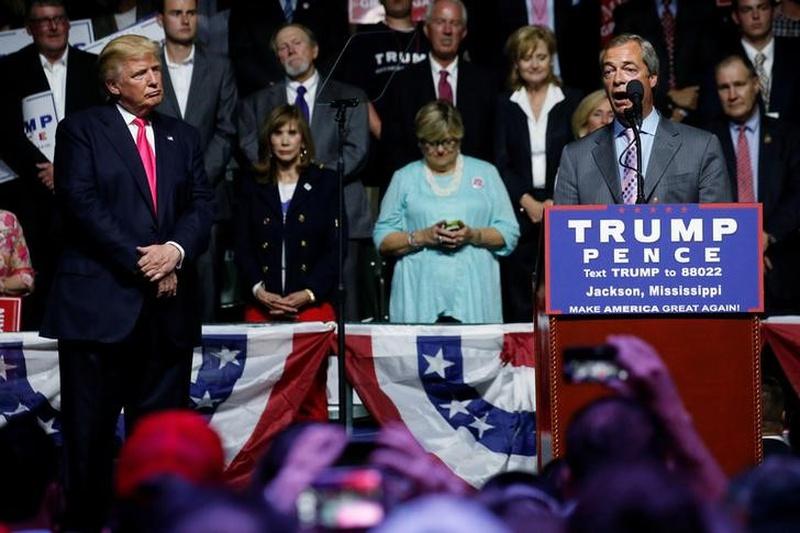 British Politician Says He'll Make Sure Trump Doesn't Grope Theresa May