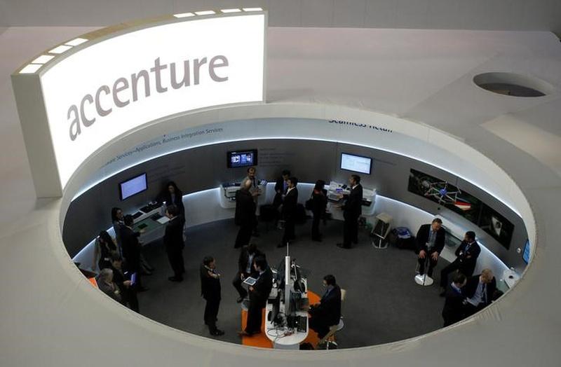 Accenture profit climbs 45% as revenue grows
