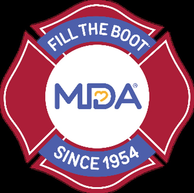 Firefighters fill the boot for Muscular Dystrophy Association