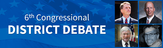 6th Congressional District Debate