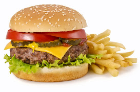 Burger and Fries image
