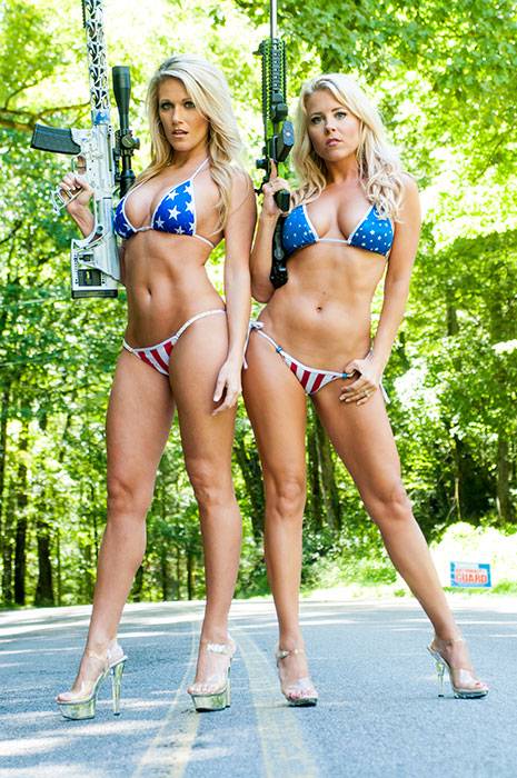Fenton Nissan East >> 2017 Rock Babe Calendar | Misses March | Carrie & Christina | Classic Rock 103.5 WIMZ ...