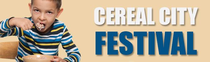 Cereal Festival Banner