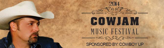 Cowjam Music Fest Banner