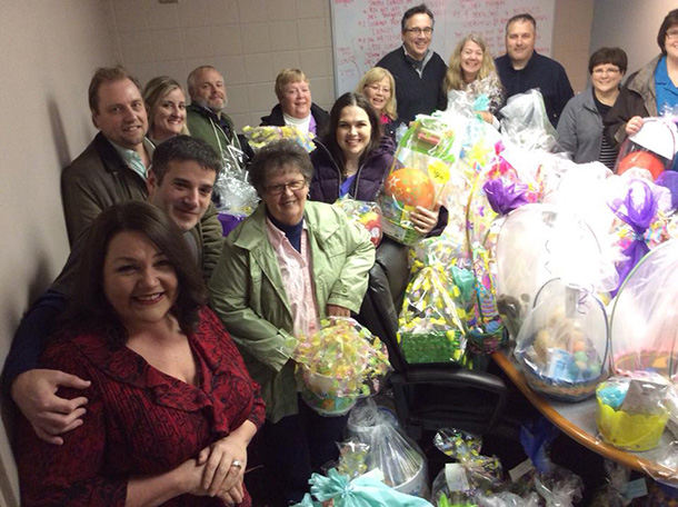 Donated Easter Baskets