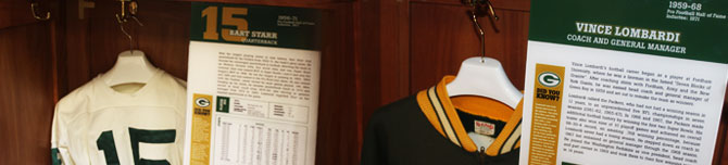 Packers Hall of Fame at Neville Public Museum